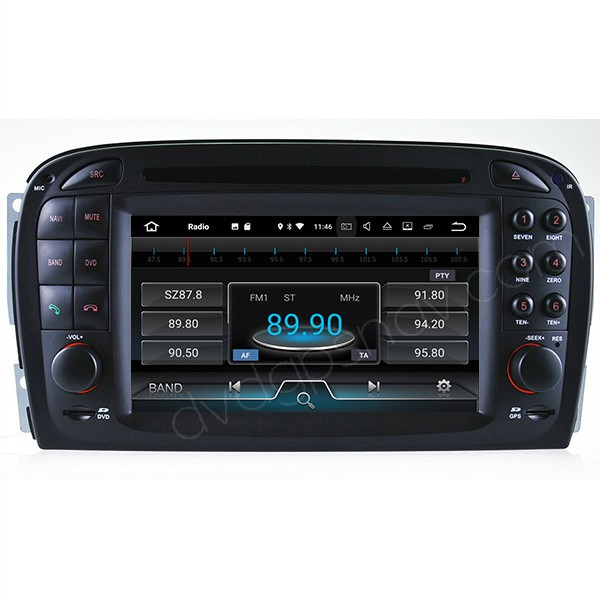 mercedes benz sl500 radio