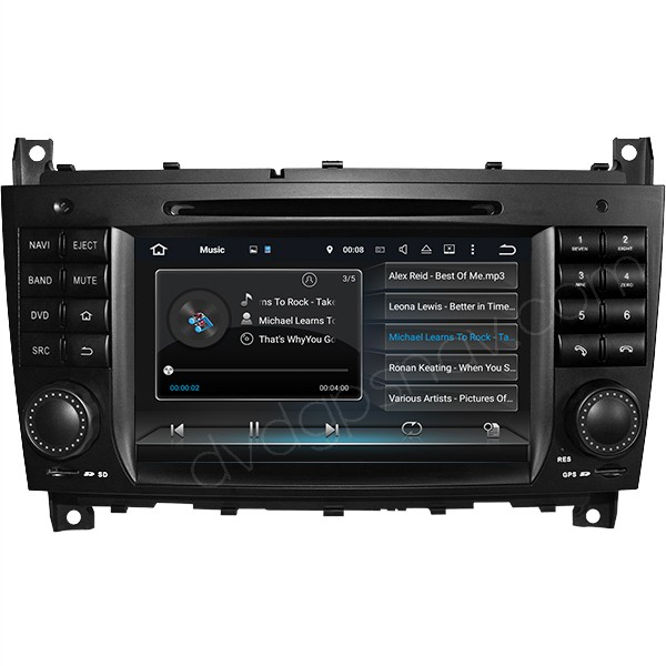 android dvd gps for mercedes benz w203