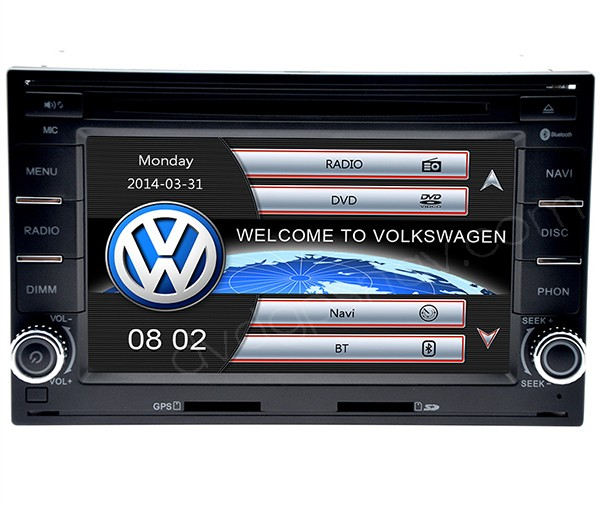 vw passat dvd player