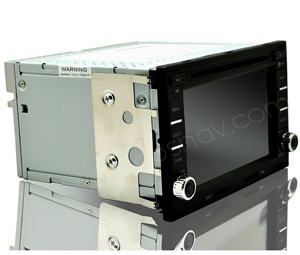 vw polo dvd player