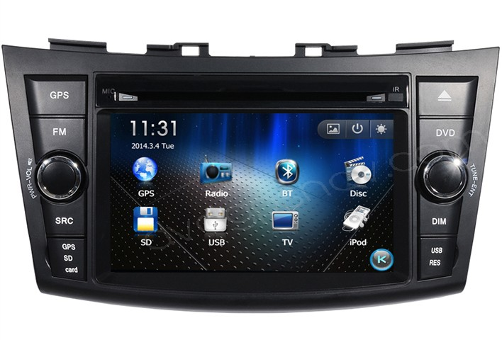 suzuki swift gps
