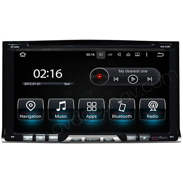 two din car dvd radio