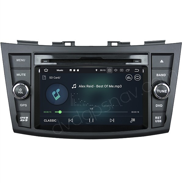 Suzuki Swift Android Navigation System Swift Radio DVD