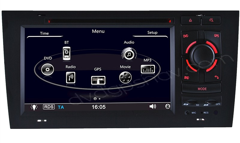 audi a6 dvd player