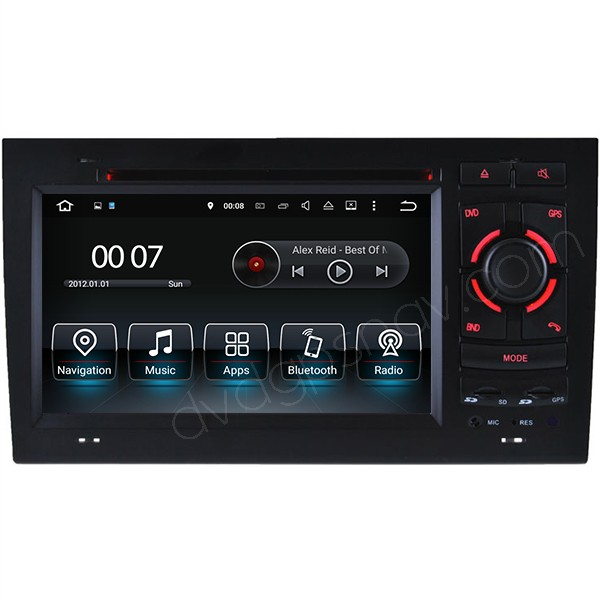 Audi A4 S4 RS4 DVD GPS