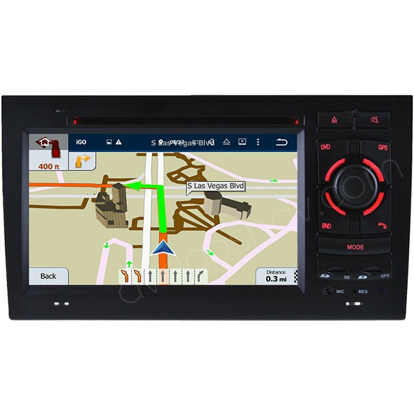 Audi A4 multimedia navigation