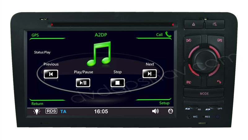 Audi A3 dvd player