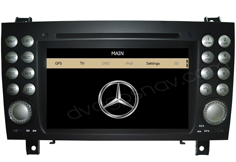 slk r171 dvd player