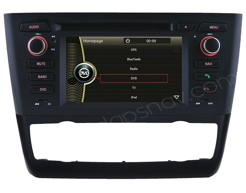 car dvd player for bmw 1 series