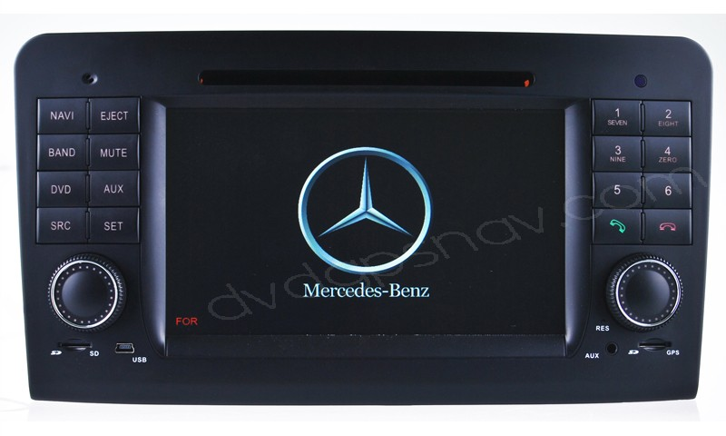 mercedes benz GL X164 DVD player