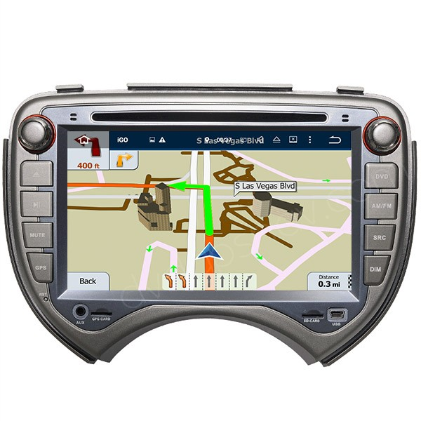 Nissan Micra Android DVD GPS