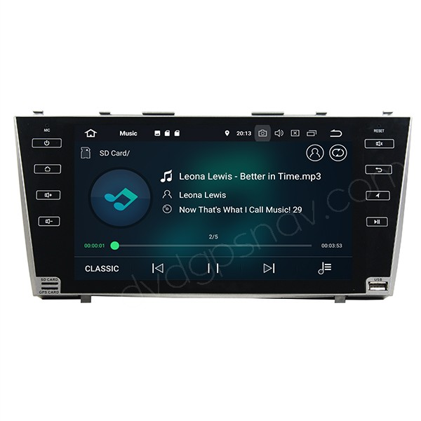 toyota camry radio android 8.0