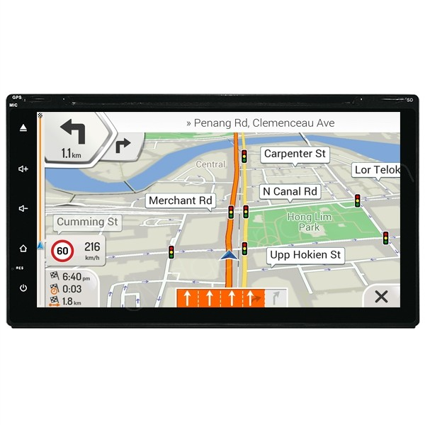 double din head unit with navigation