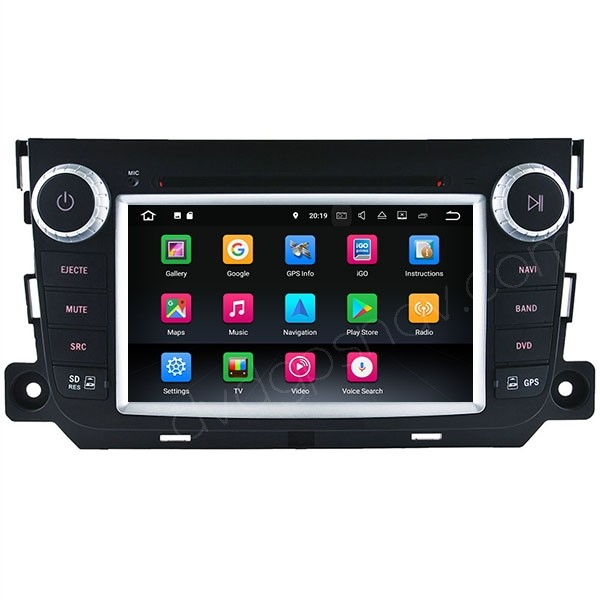 Smart Fortwo dvd navigation