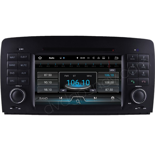 mercedes r w251 android radio
