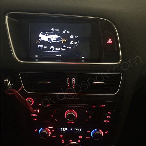 after installation audi q5 navigation