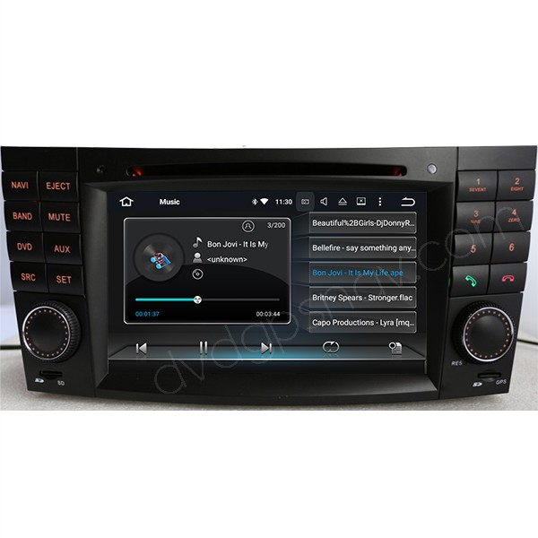 android mercedes w211 radio