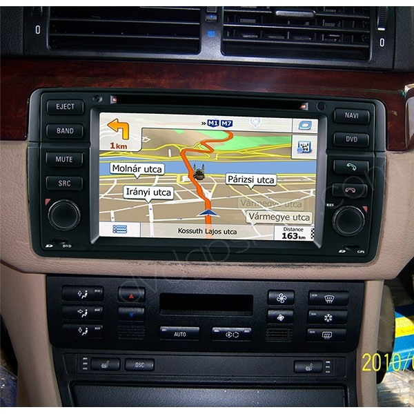 BMW E46 Navigation Installed