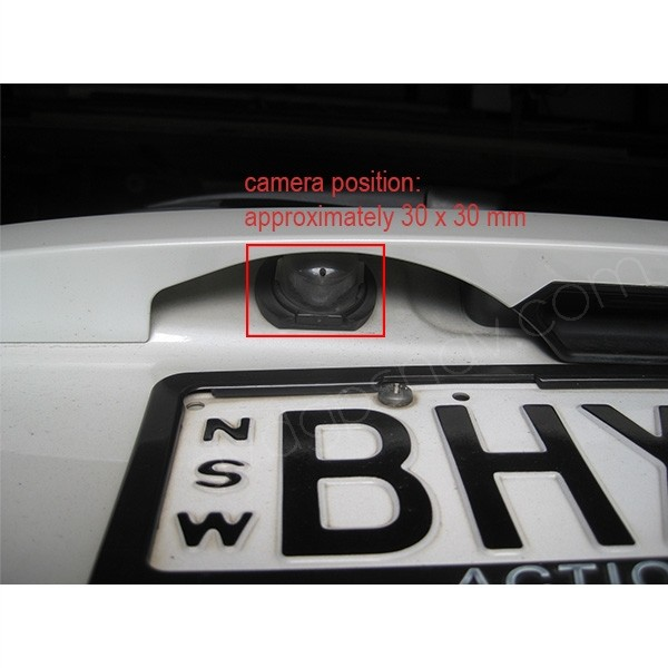 suzuki sx4 hatchback backup camera