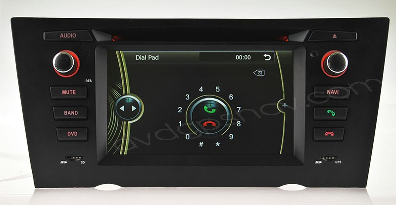 bmw e90 navigation with manual a/c
