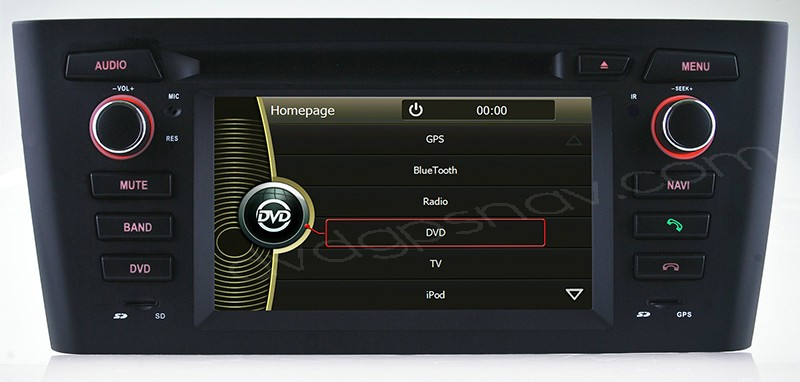 bmw e81 e82 e88 touch screen dvd player