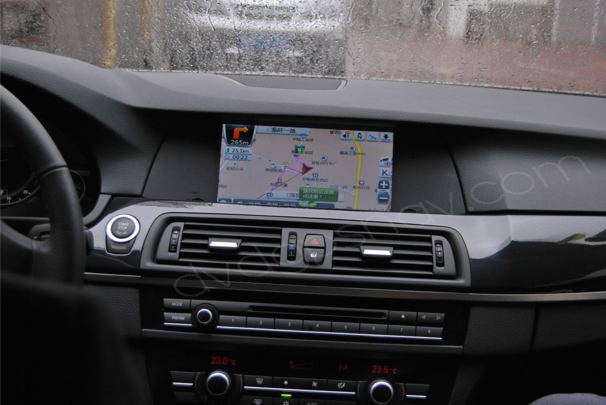 BMW 5 Series F10 GPS Navigaton 9 5 inch Touch Screen TV