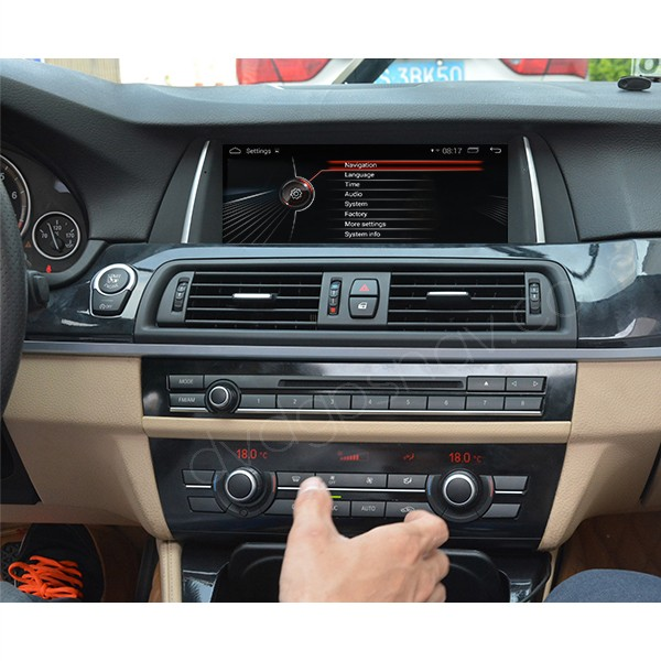 BMW F10 Android navigation