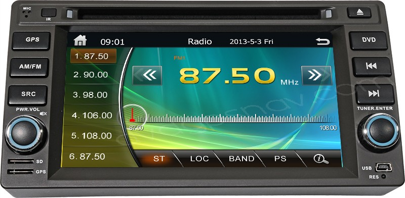 geely vision radio