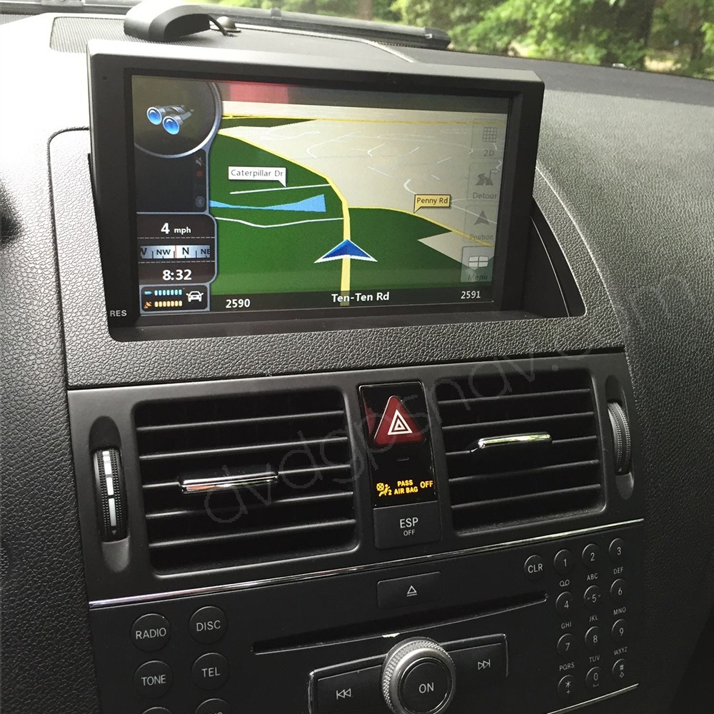 Android Mercedes W204 GPS