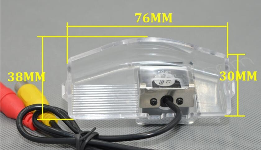 dimensions fits car license plate light of mazda 3