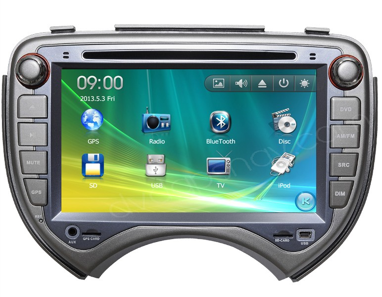 nissan march dvd player