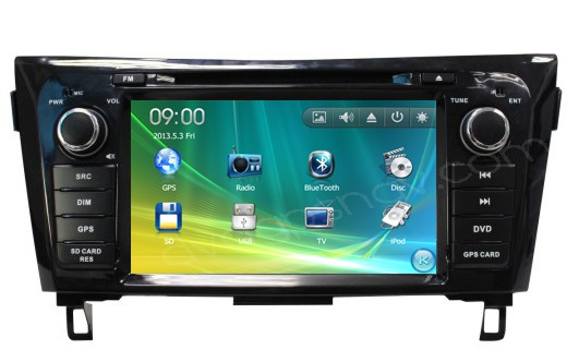 nissan x-trail dvd player
