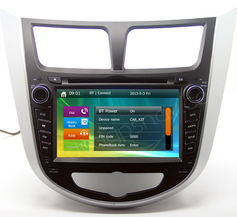 hyundai verna dvd player