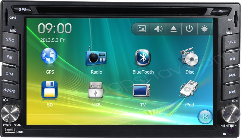 Toyoa Navigation DVD Update for Toyota Radio DVD GPS System