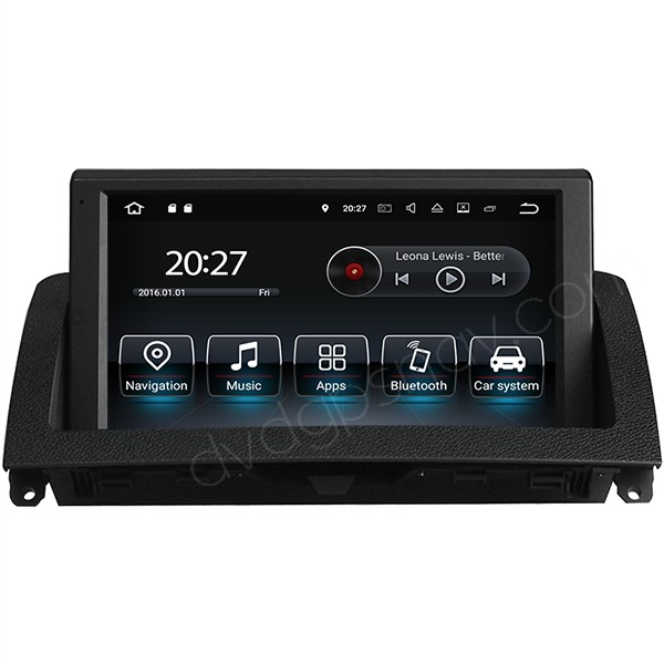 Mercedes W204 Android head unit