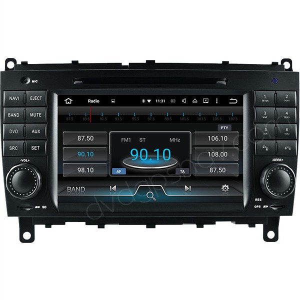 Mercedes W209 CLK Android radio