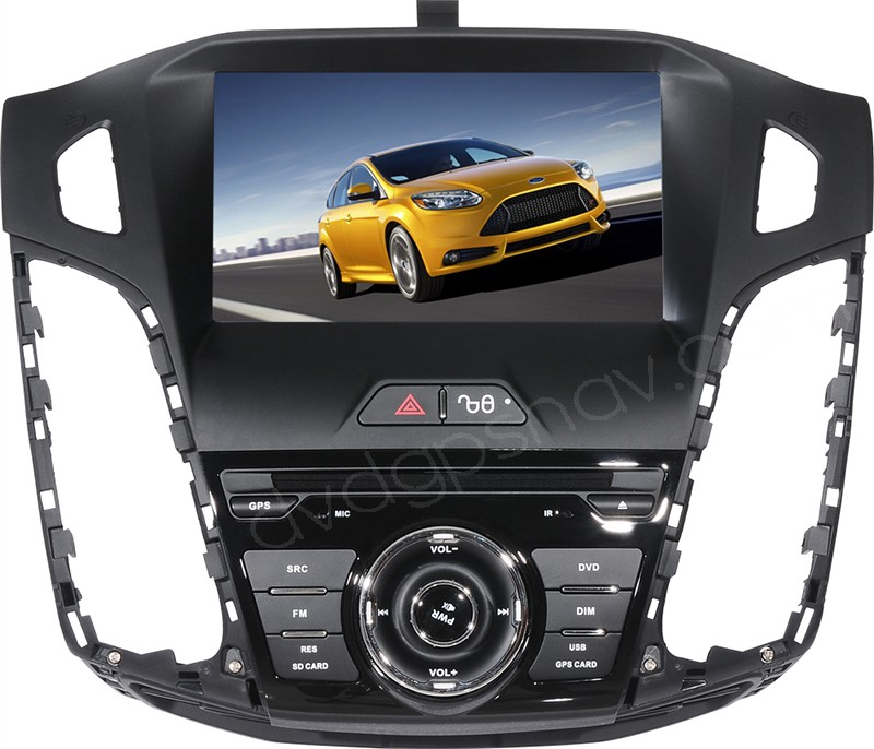 In-Dash 2012 Ford Focus DVD Player - 2012 Ford Focus GPS navigation Radio Head unit