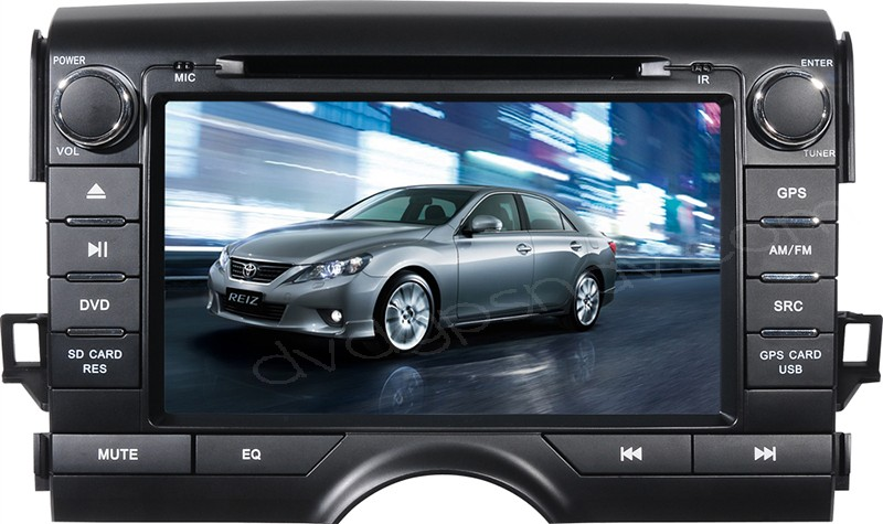 In dash Toyota Mark X DVD player Radio Toyota Mark X Navigation GPS head unit
