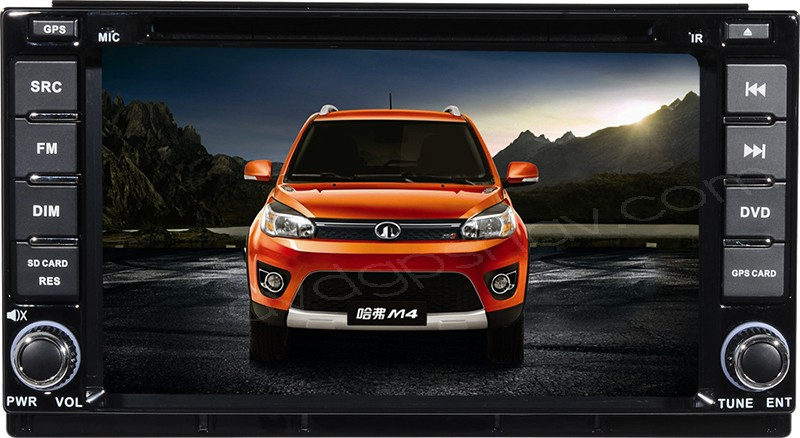 Great Wall M4 Car DVD Player Radio GPS Navigation Bluetooth Touch screen