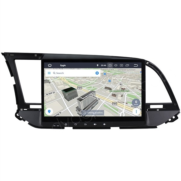 """Hyundai Elantra Radio Replacement Android Head Unit 10.1"""" Touch Screen 2016 2017 2018"""