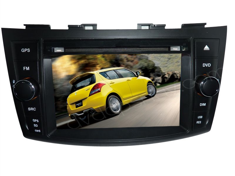 Suzuki Swift DVD Player GPS Navigation Double Din Car Radio