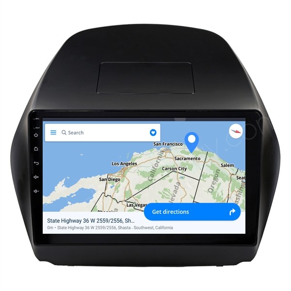 "10.1"" Hyundai IX35 Tucson Stereo Upgrade Aftermarket Android Head Unit GPS Navigation System 2009-2014"