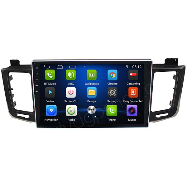 10.1 Inch Toyota RAV4 Head Unit Replacement Android Touch Screen Radio