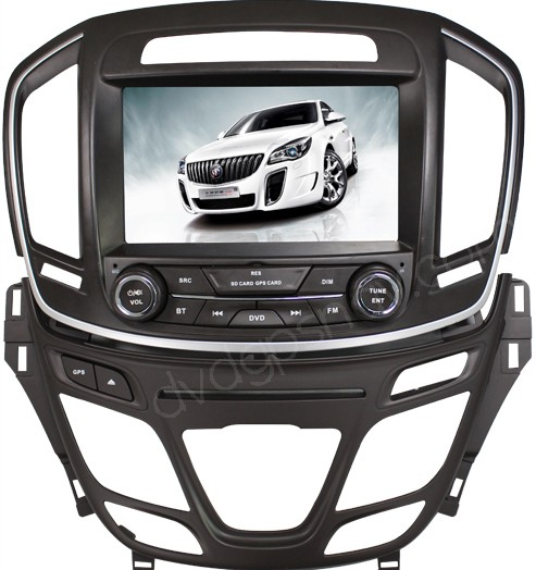 Buick Regal Car DVD Player - Buick Regal GPS navigation with Bluetooth
