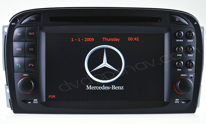 Mercedes-Benz SL Class R230 DVD navigation GPS Radio Car DVD Player For SL R230 Head unit
