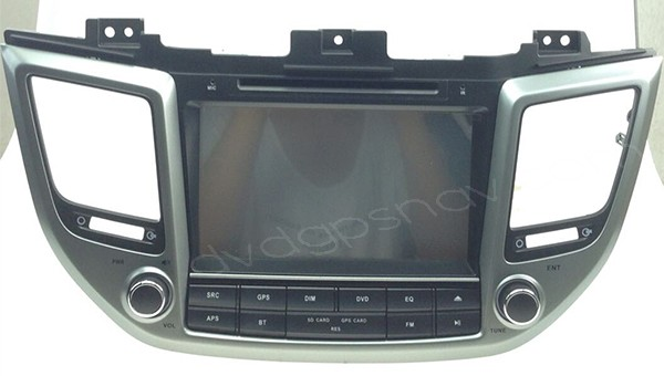 "2015 2016 Hyundai IX35 Tucson DVD Player Radio GPS Navigation 8"" Touch screen USB BT"