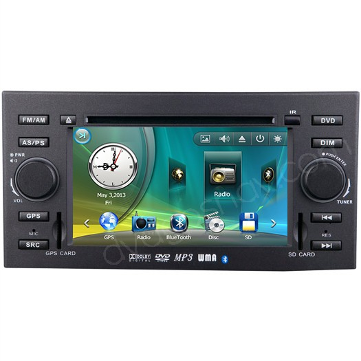 2006-2009 Toyota Mark X Reiz Car DVD Player Radio GPS Navigation System Head Unit