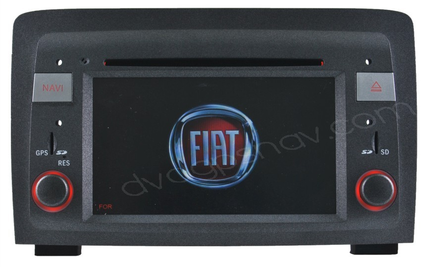 Fiat Idea DVD Player - Fiat Idea GPS navigation Head unit