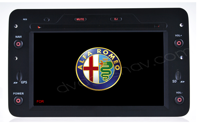 Car DVD Player GPS Nav for Alfa Romeo 159 Spider Brera Sportwagon 2005-2008 DVD GPS Navigation Head Units