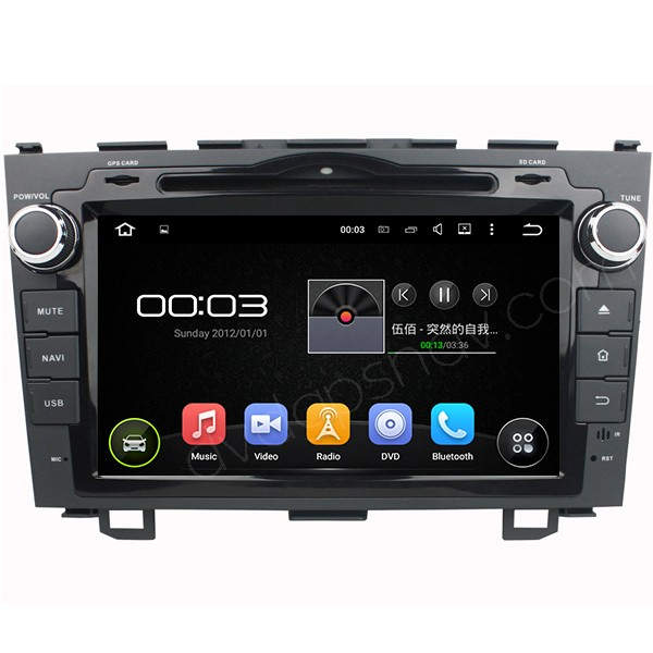Android Honda CRV Radio Navigation HD Screen Quad-Core 1.6GHz WiFi Bluetooth 2007-2011